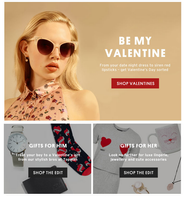 11 Valentine S Day Email Creatives From The Fashion Industry
