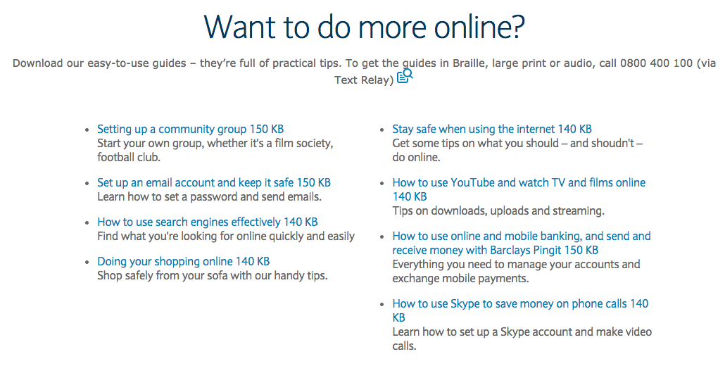 barclays content