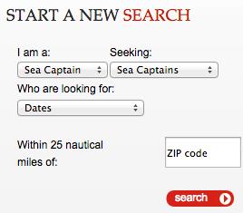 sea captain dating site