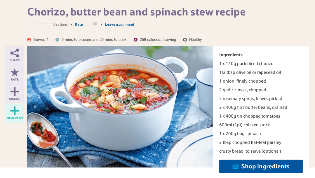 How do waitrose and tesco use on site content marketing but more impressive is the ability to text or email the ingredients list add it to a meal plan or buy all the ingredients forumfinder Images