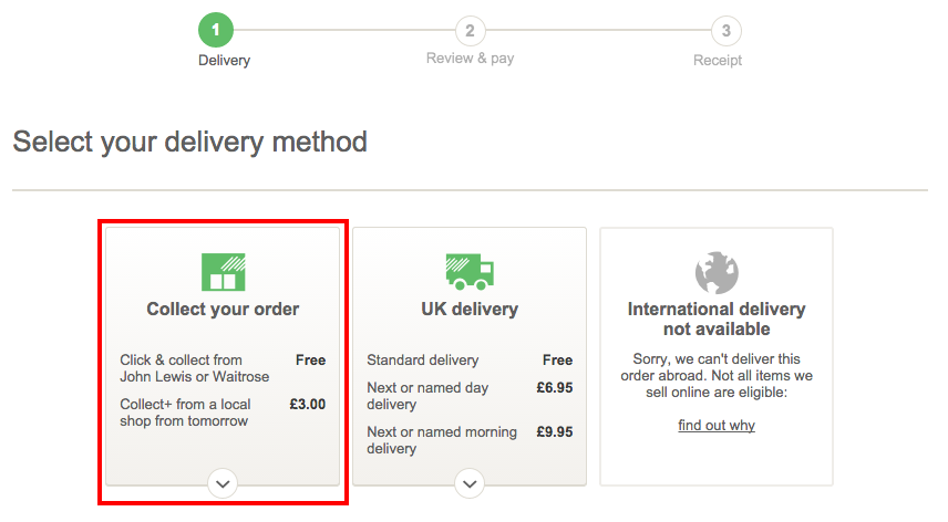 Why Is John Lewis Charging For Click And Collect Econsultancy