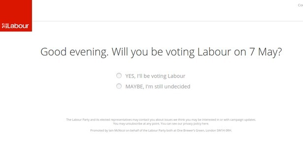 Labour's page