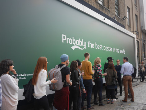 Carlsberg 'Probably the best poster in the world'