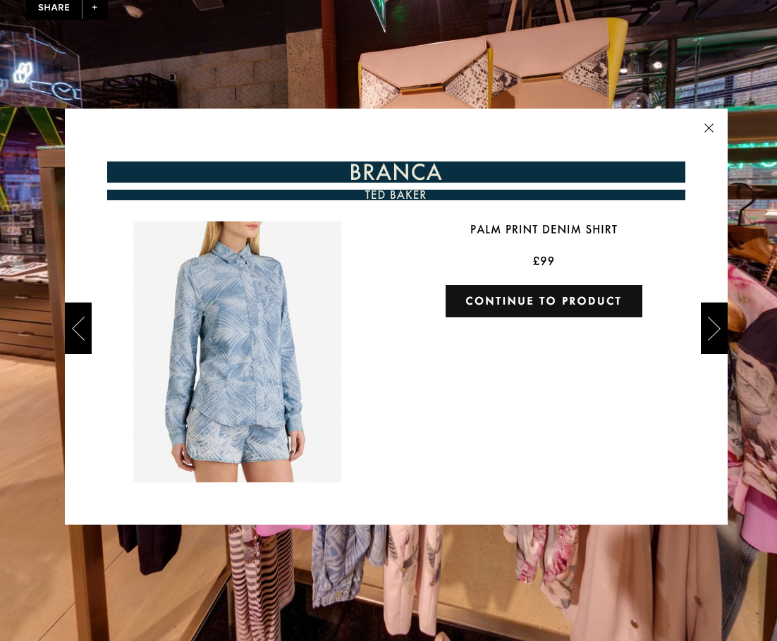 2ae4083a9b2622 Ted Baker s virtual store  what is the point  – Econsultancy