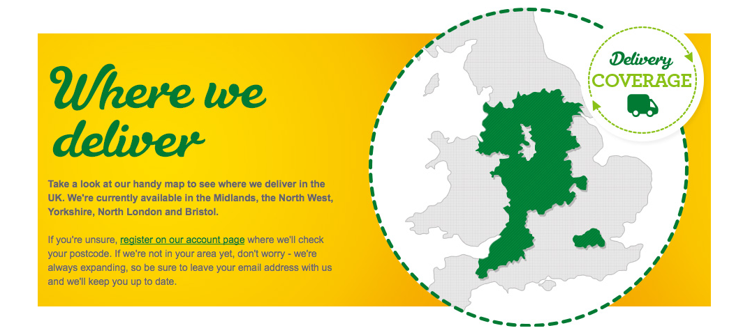 Morrisons delivery areas