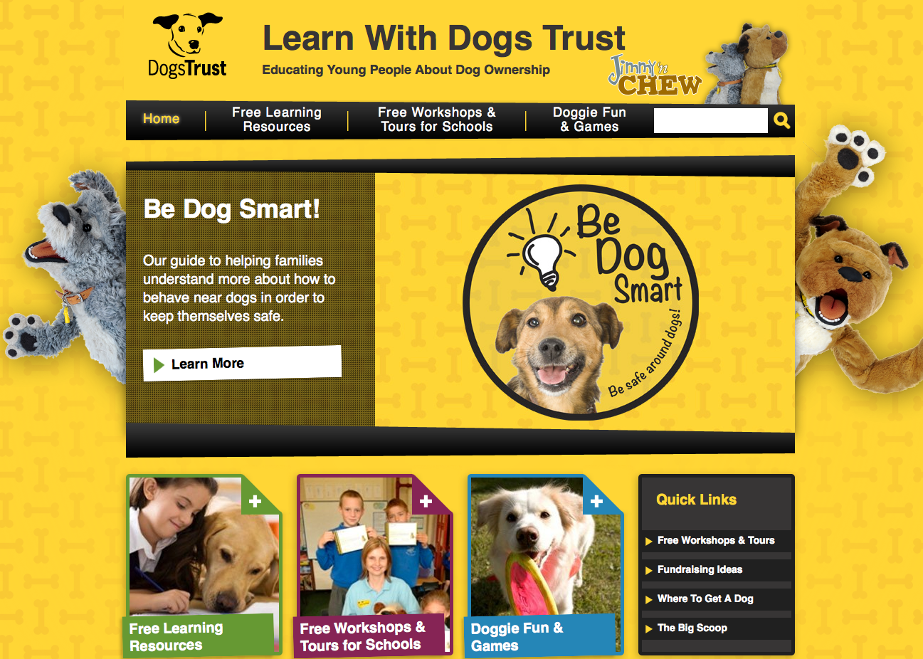 Learn With Dogs Trust