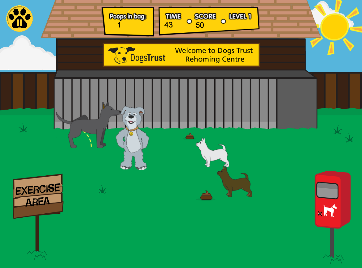 Dogs Trust game