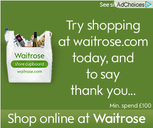 display retargeting by waitrose