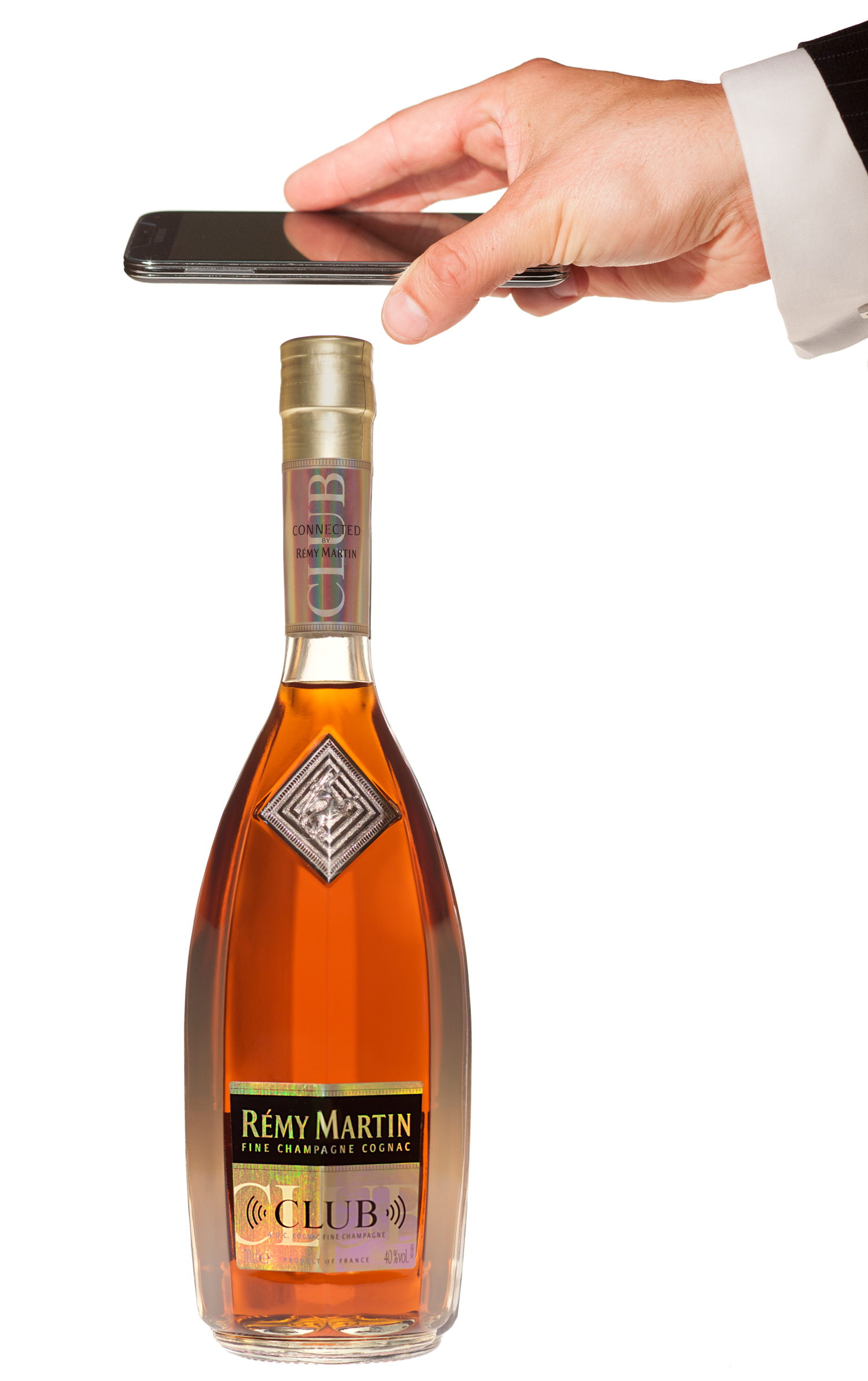 NFC smart bottle technology