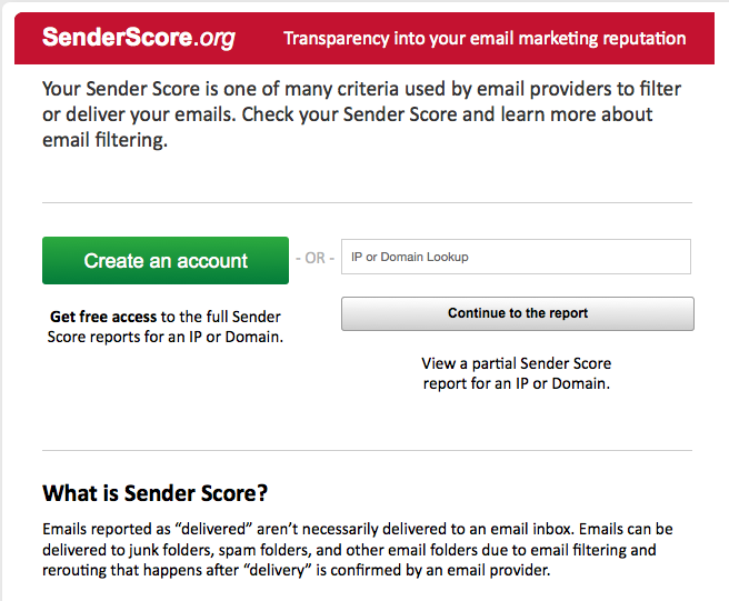 Senderscore.org