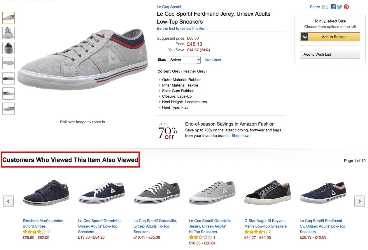 Amazon social proof