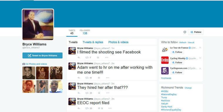 Virginia shooting Twitter