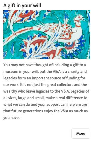 v&a donate