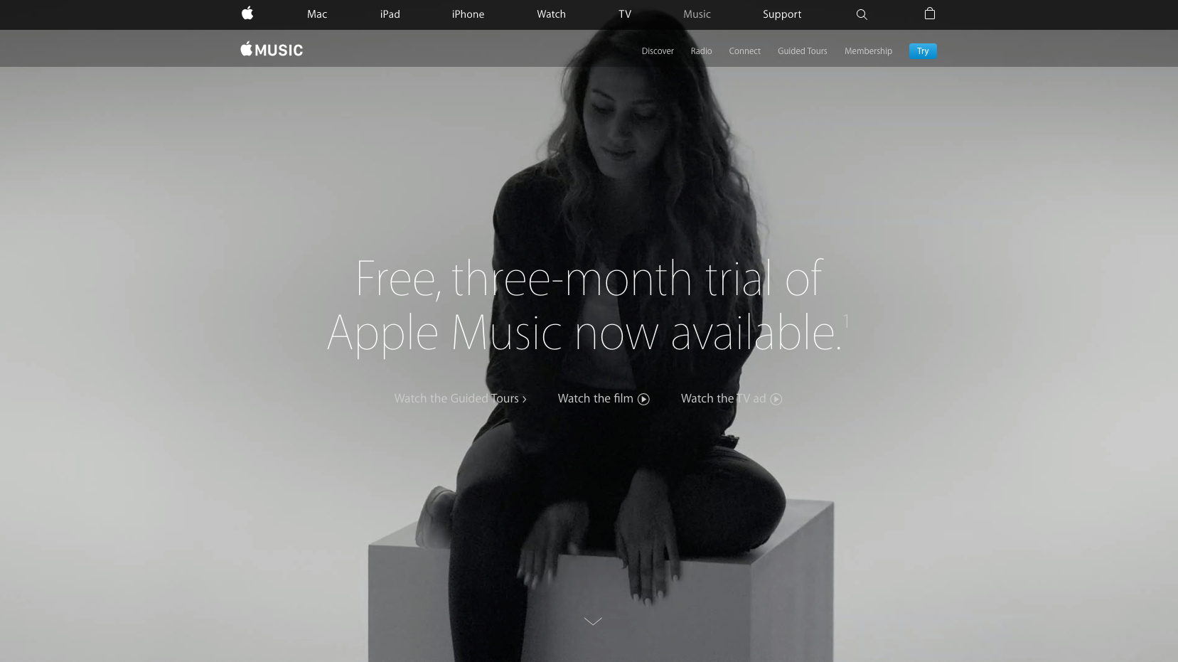 apple music website