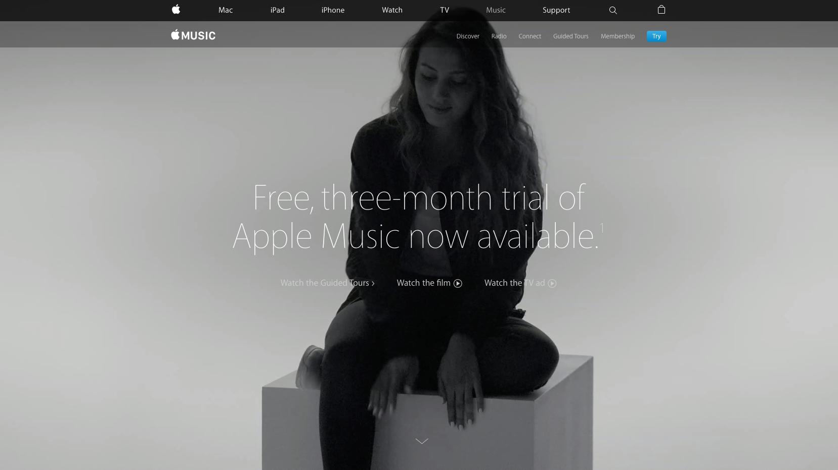 apple music website