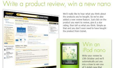 product review incentive