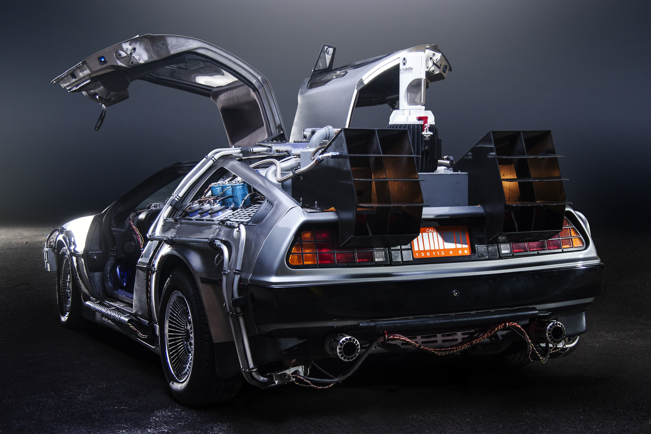 delorean brand boost on back to the future day