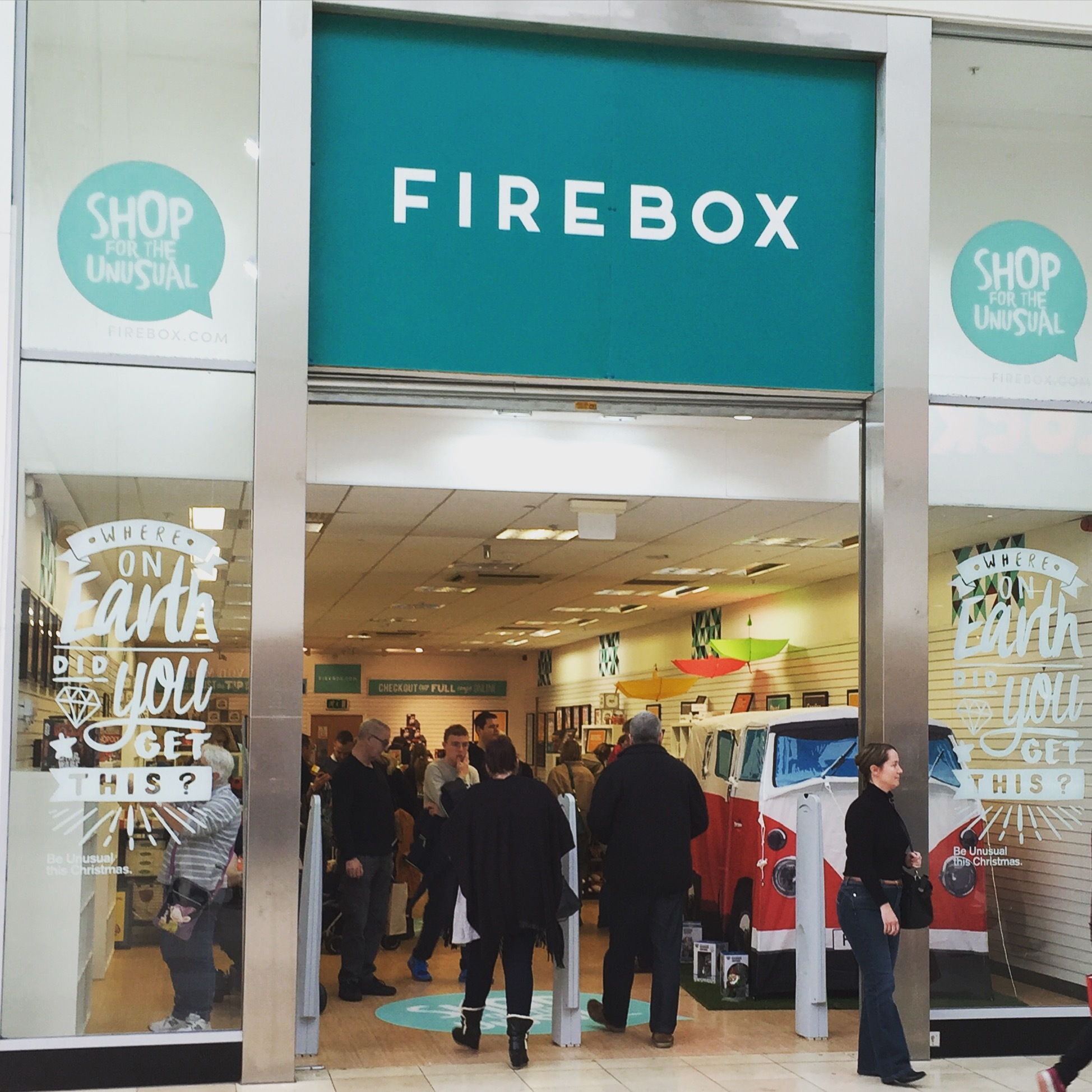 Firebox pop-up shop
