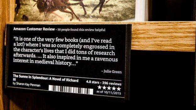 Amazon books online reviews on shelf