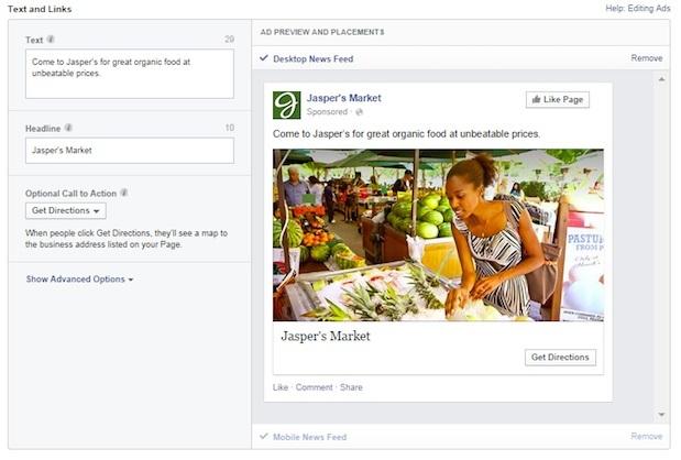 facebook local ad
