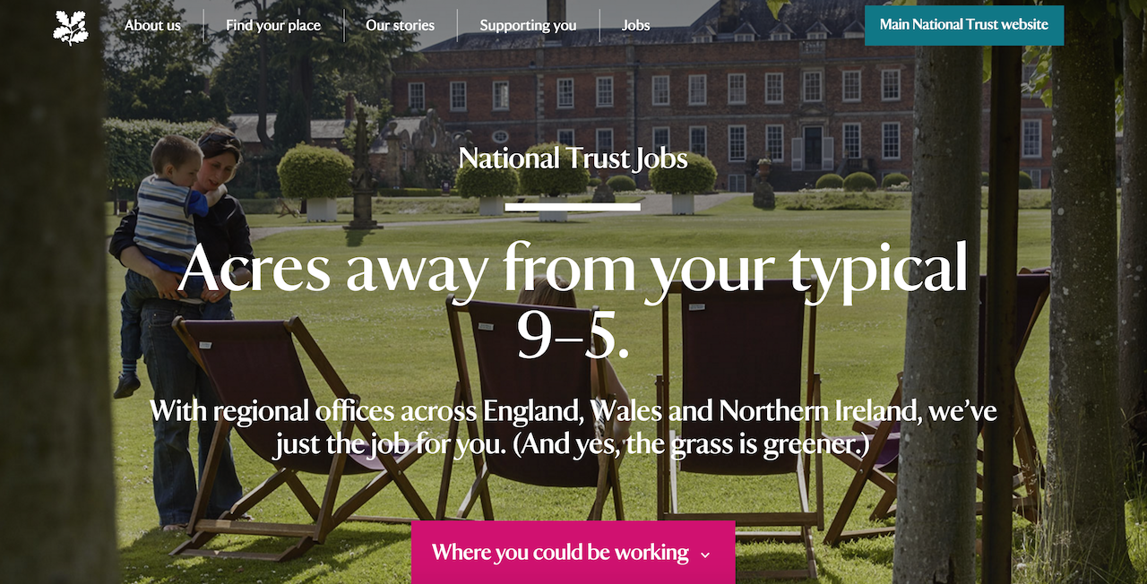 national trust jobs