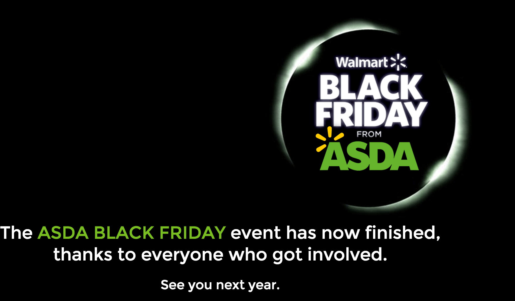 asda black friday page