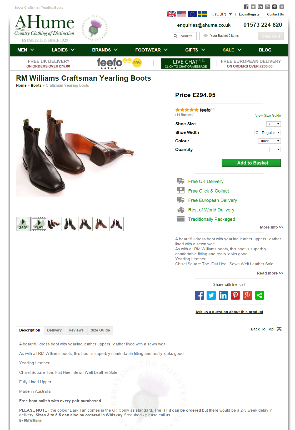 a/b testing on a hume product pages