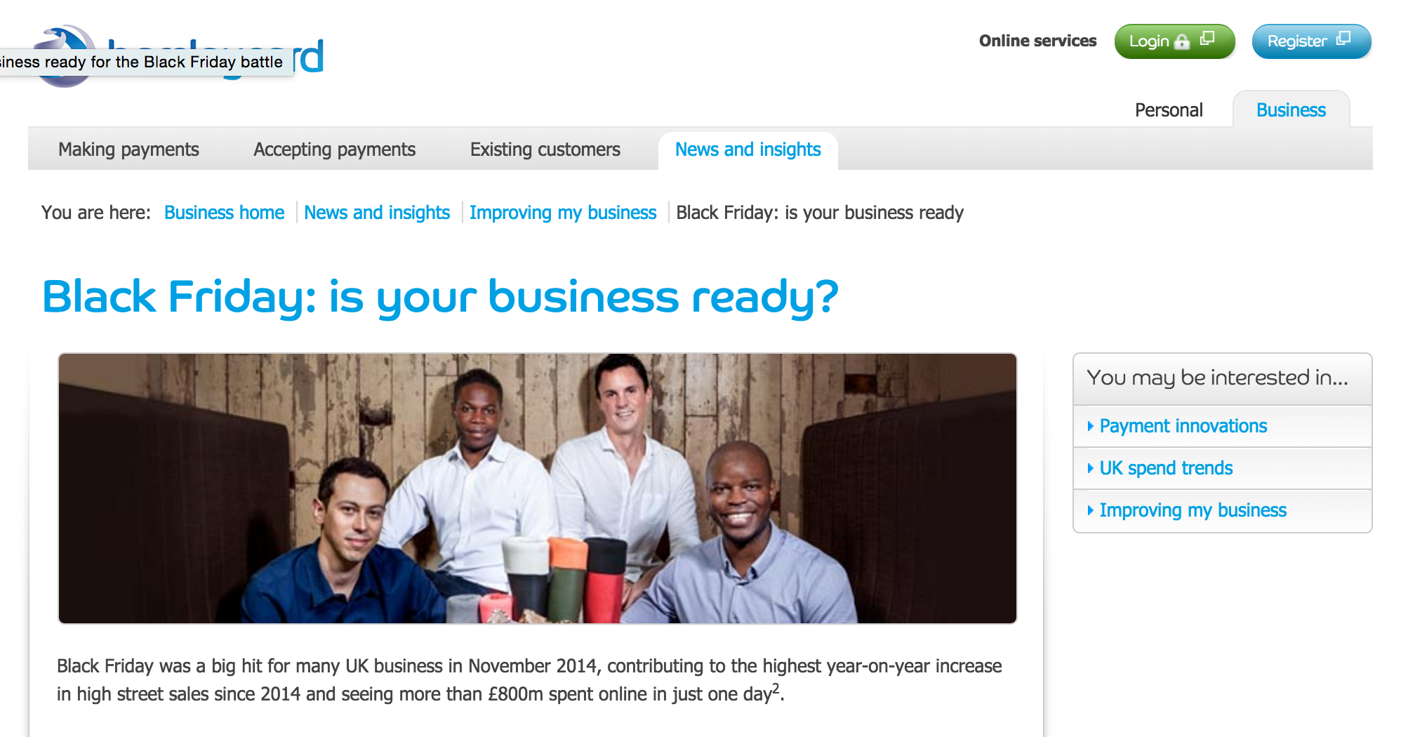 barclaycard news and insights black friday articles