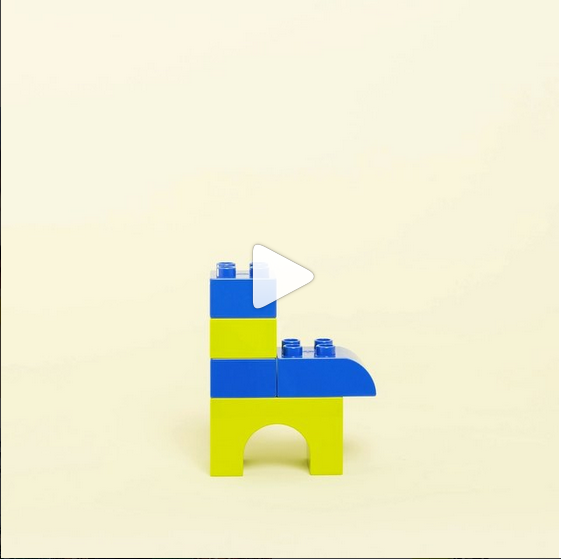 Lego instagram video