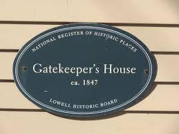 gatekeeper's house sign