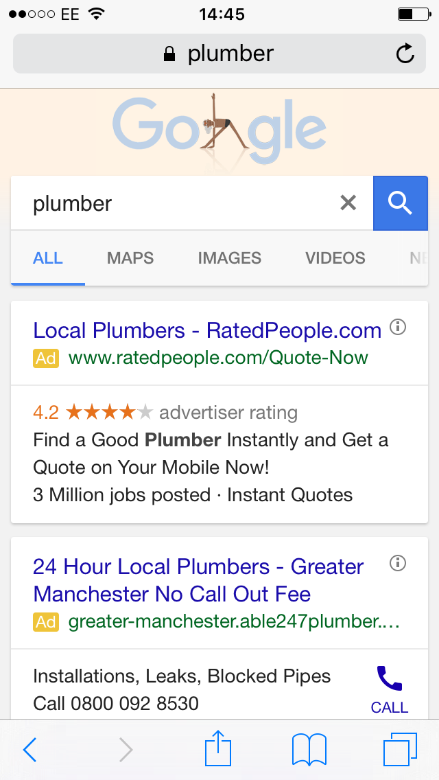 local search for plumber