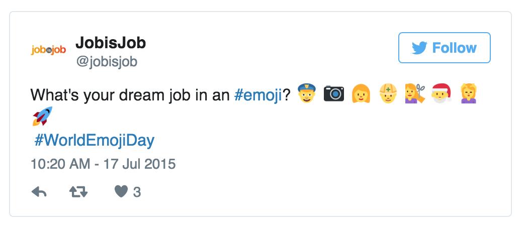 emoji tweet