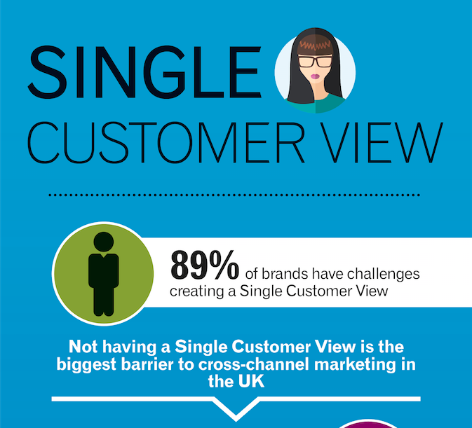 single customer view infographic