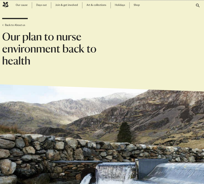national trust strategy