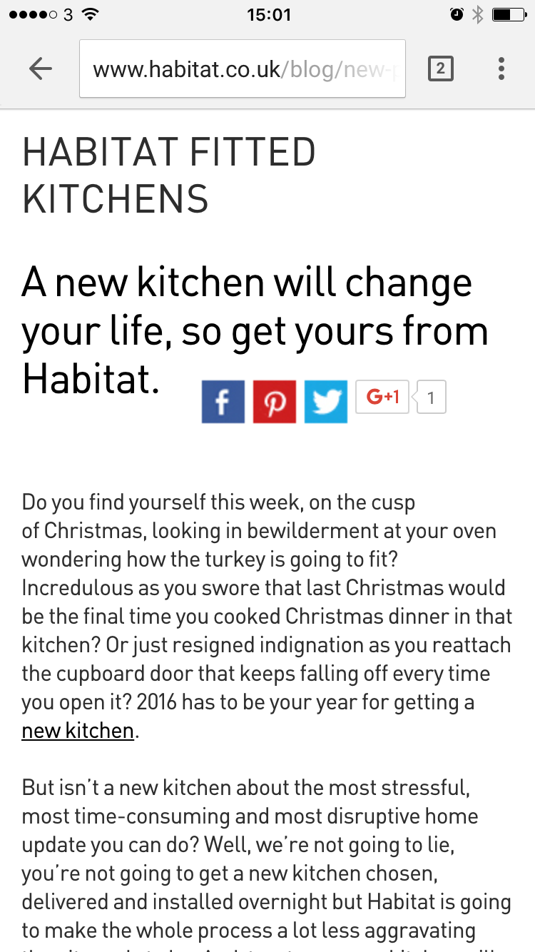 habitat mobile site blog content