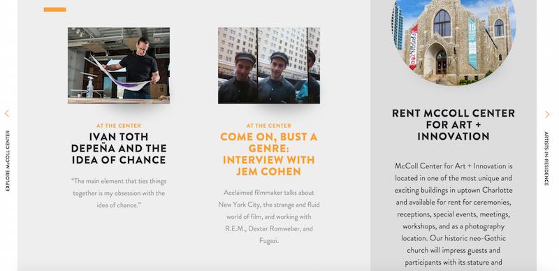 mccoll centre website