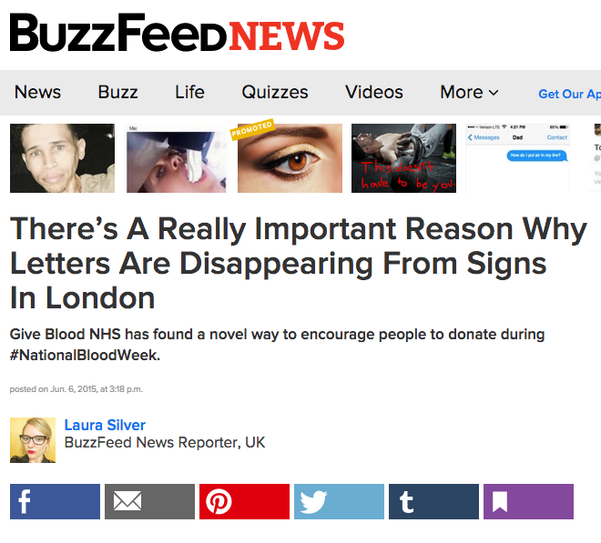 Buzzfeed coverage of NHSBS missing type campaign