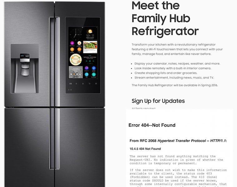 iot fridge