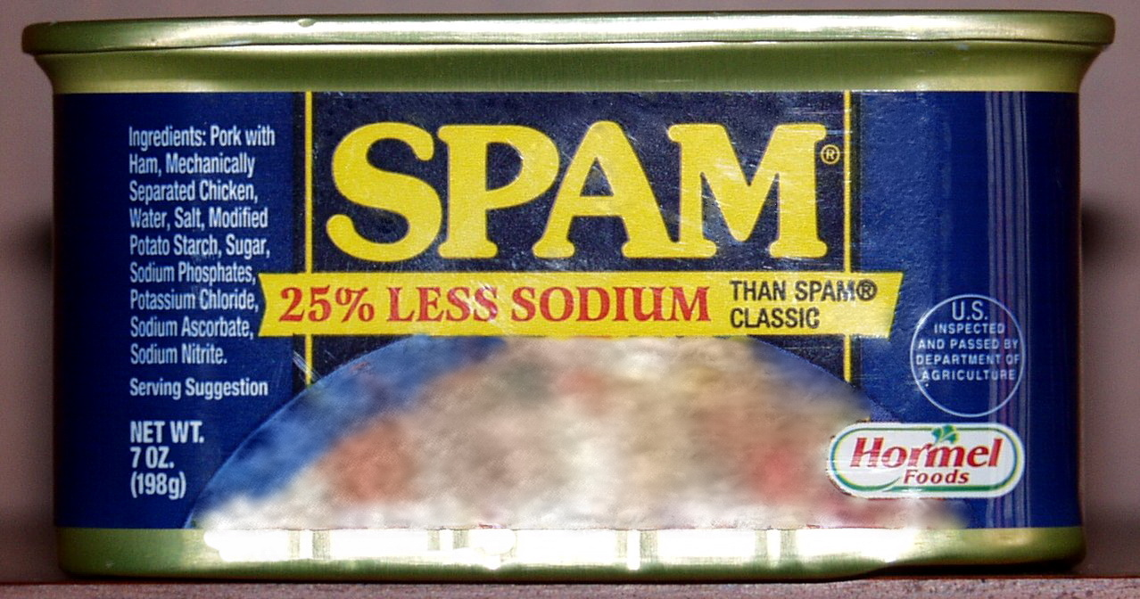 Spam email newsletter