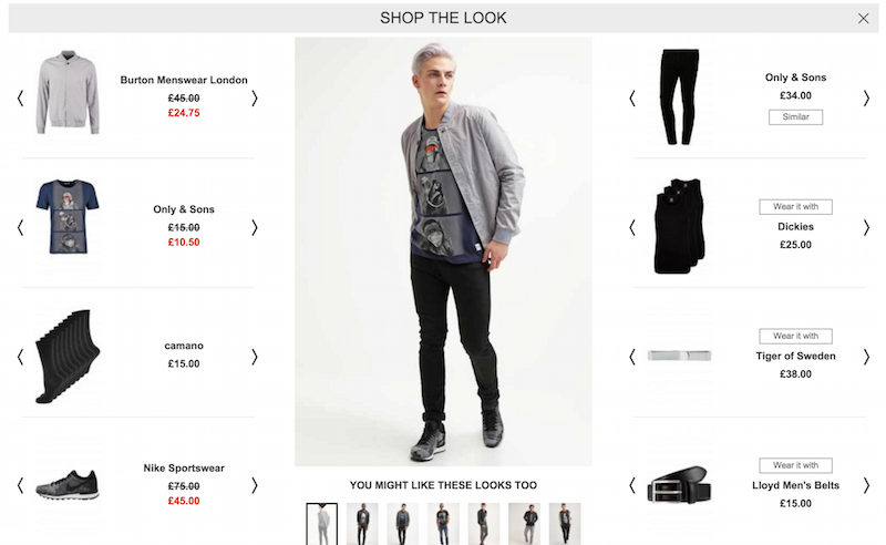 shop the look - zalando