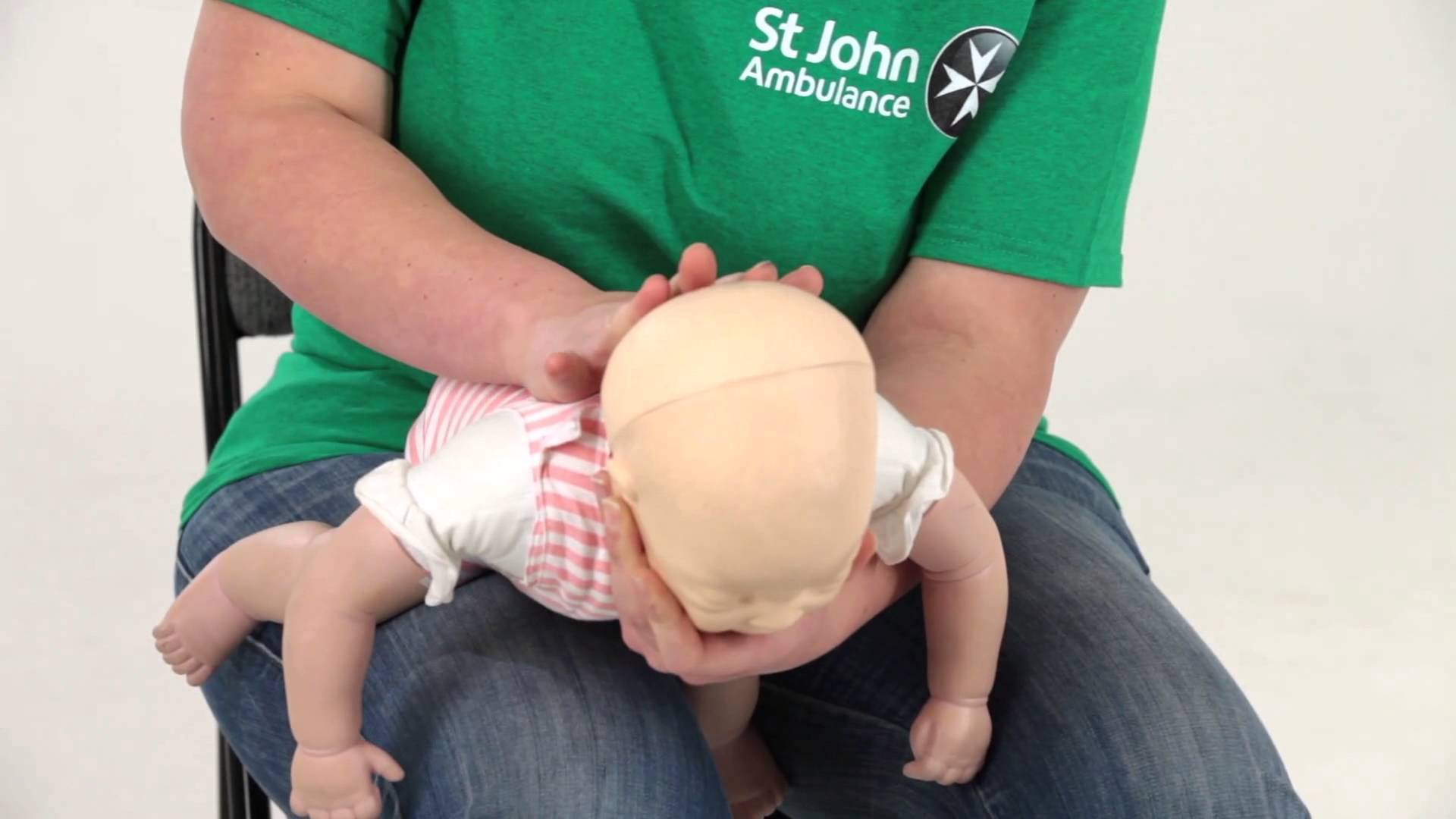 what to do when baby choking st john's ambulance