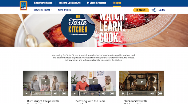 aldi taste kitchen