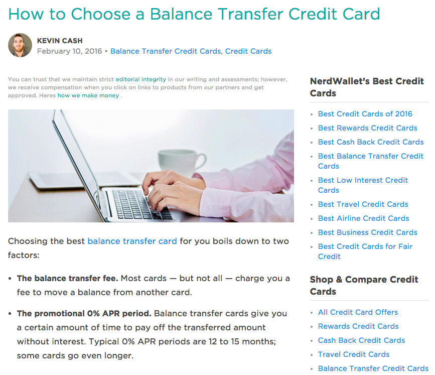 blog balance transfer best credit cards