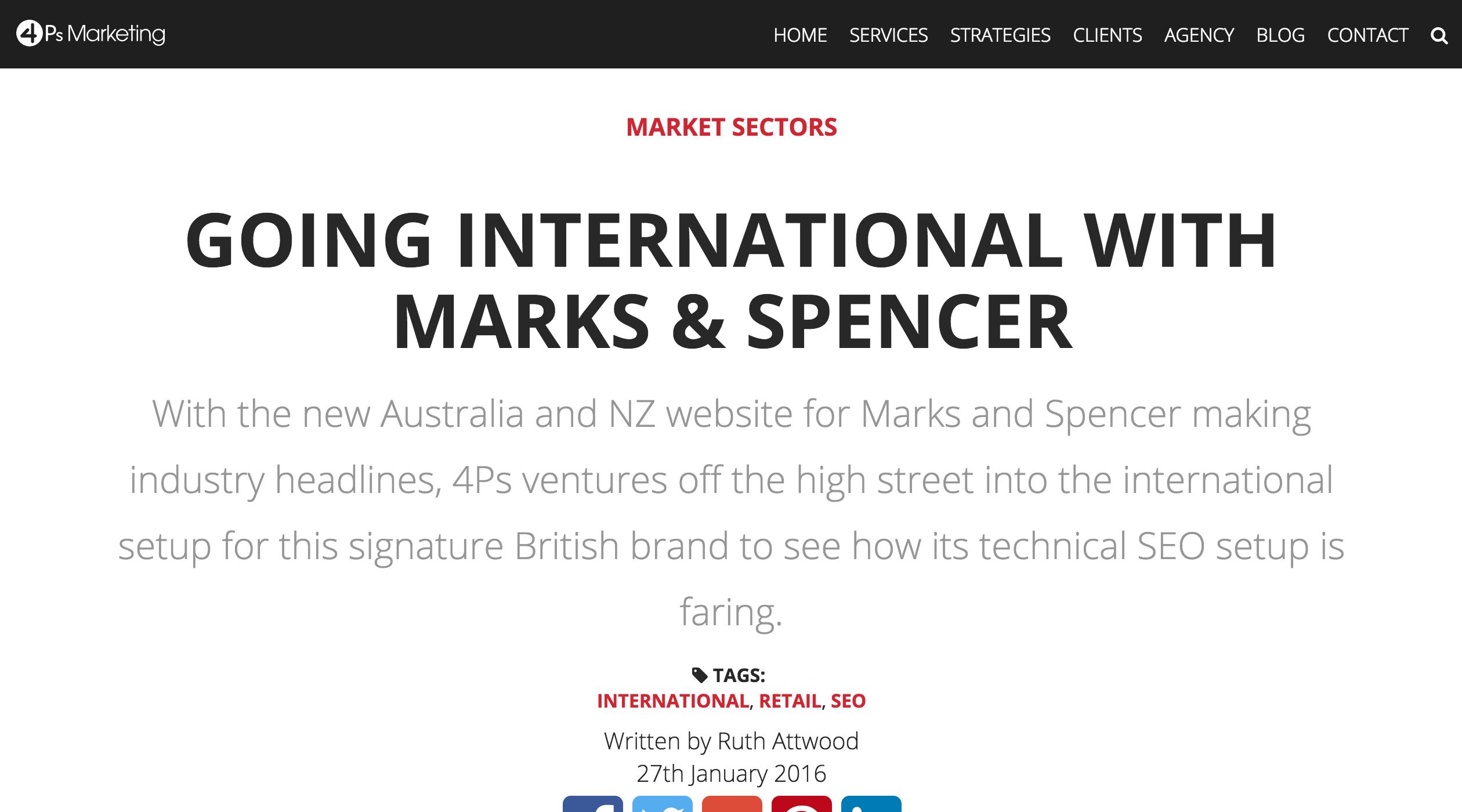 4ps marketing blog