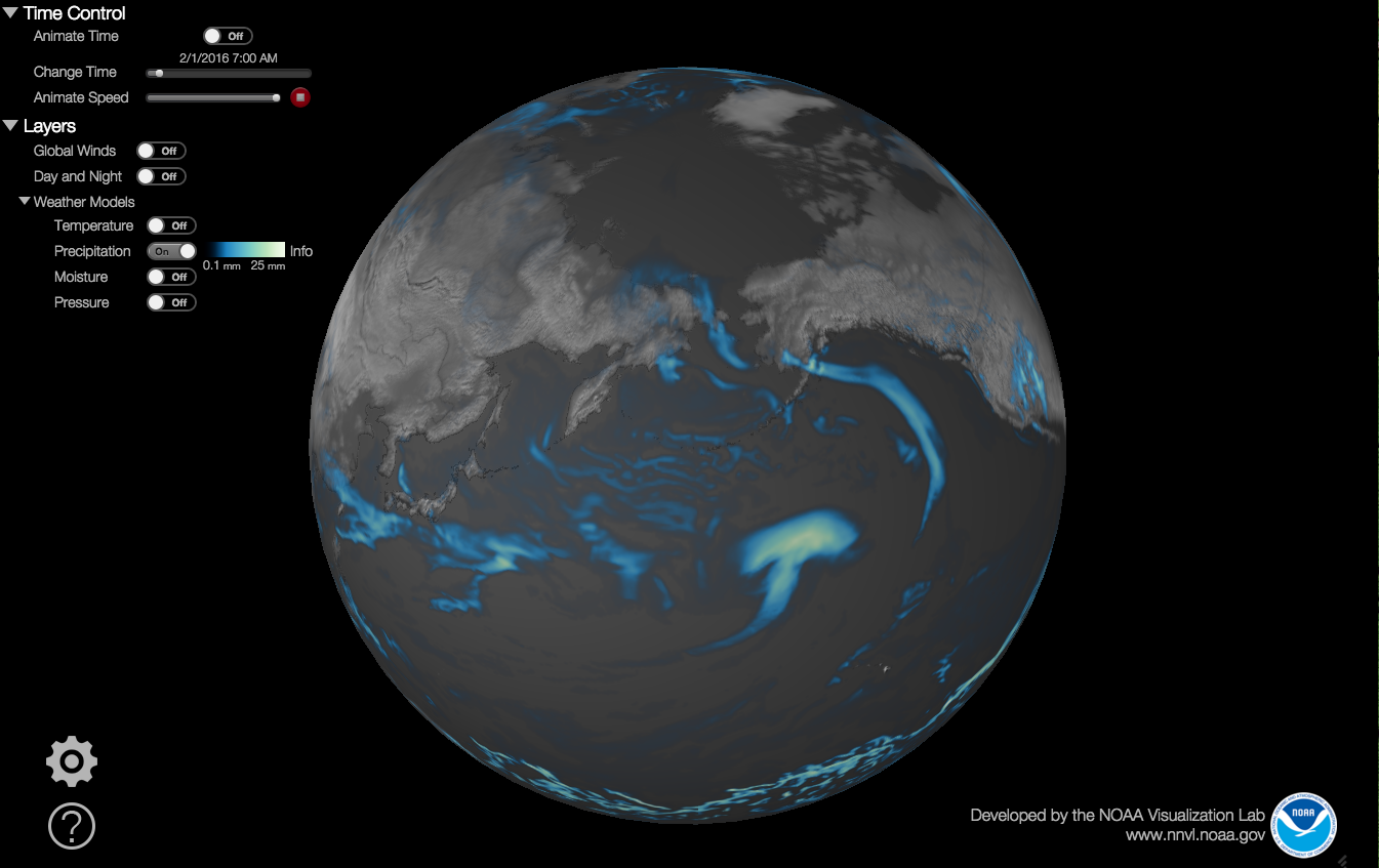 NOAA weatherview