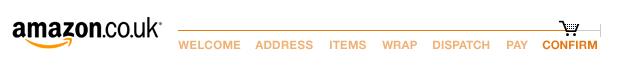 amazon checkout progress indicator