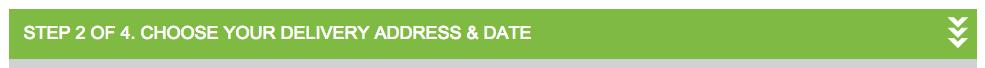 ao.com checkout progress indicator
