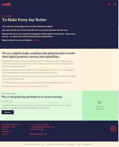 code computerlove website