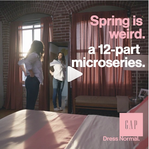 Gap instagram video series