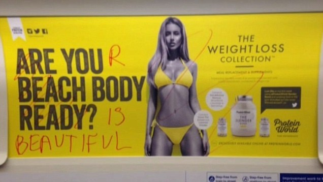 protein world tube ad defaced